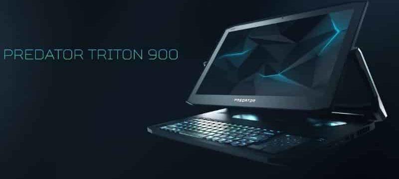 Скупка ПК, скупка ноутбуков в Спб - Необычный игровой ноутбук-трансформер ACER Predator Trion 900 -